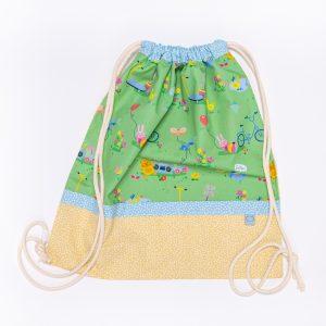 sacchetto handmade giochi al parco